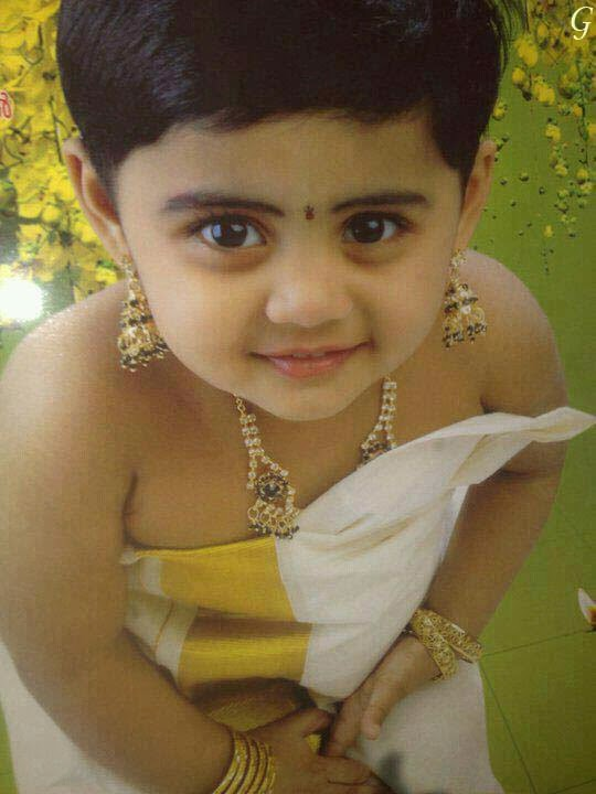 Baby Pictures With Indian Traditional Dress Kids Images
