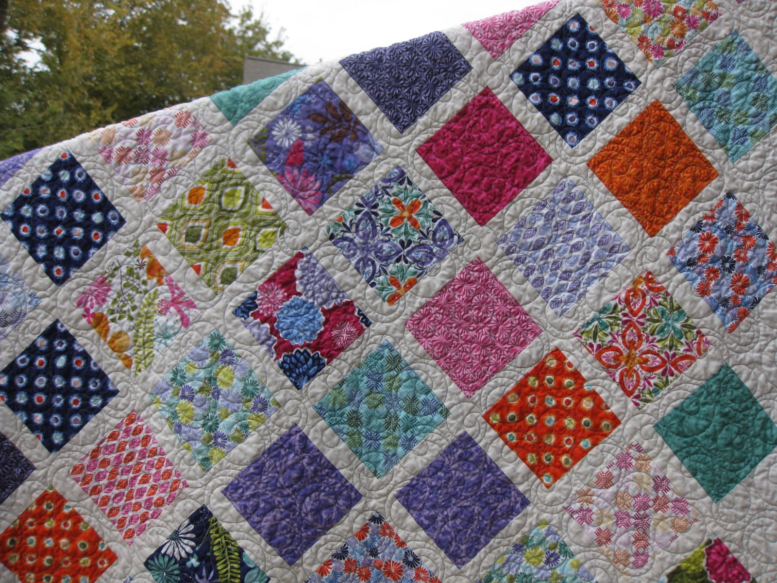 Free Quilt Patterns Square Blocks : Millie s Quilting: Two Charm Square Quilts