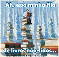 Meme: A fila de livros não -lidos