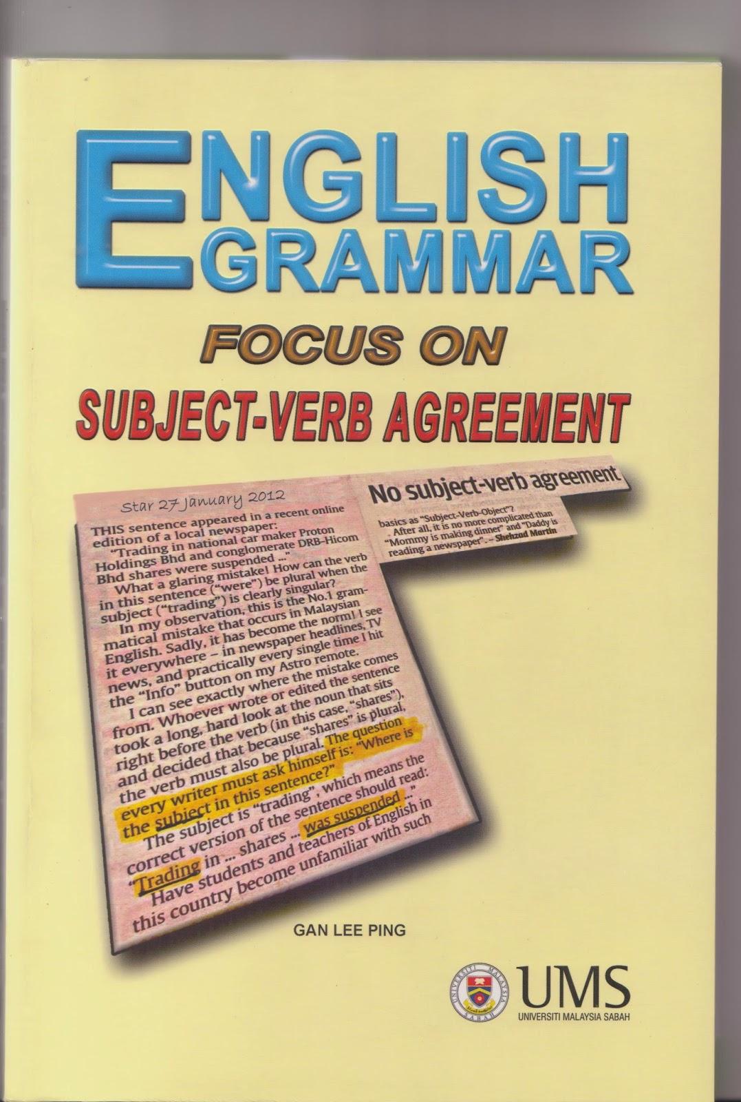 English Grammar English Grammar Focus On Subject Verb Agreement