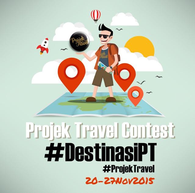 Kontes Instagram Destinasi Pilihan Projek Travel