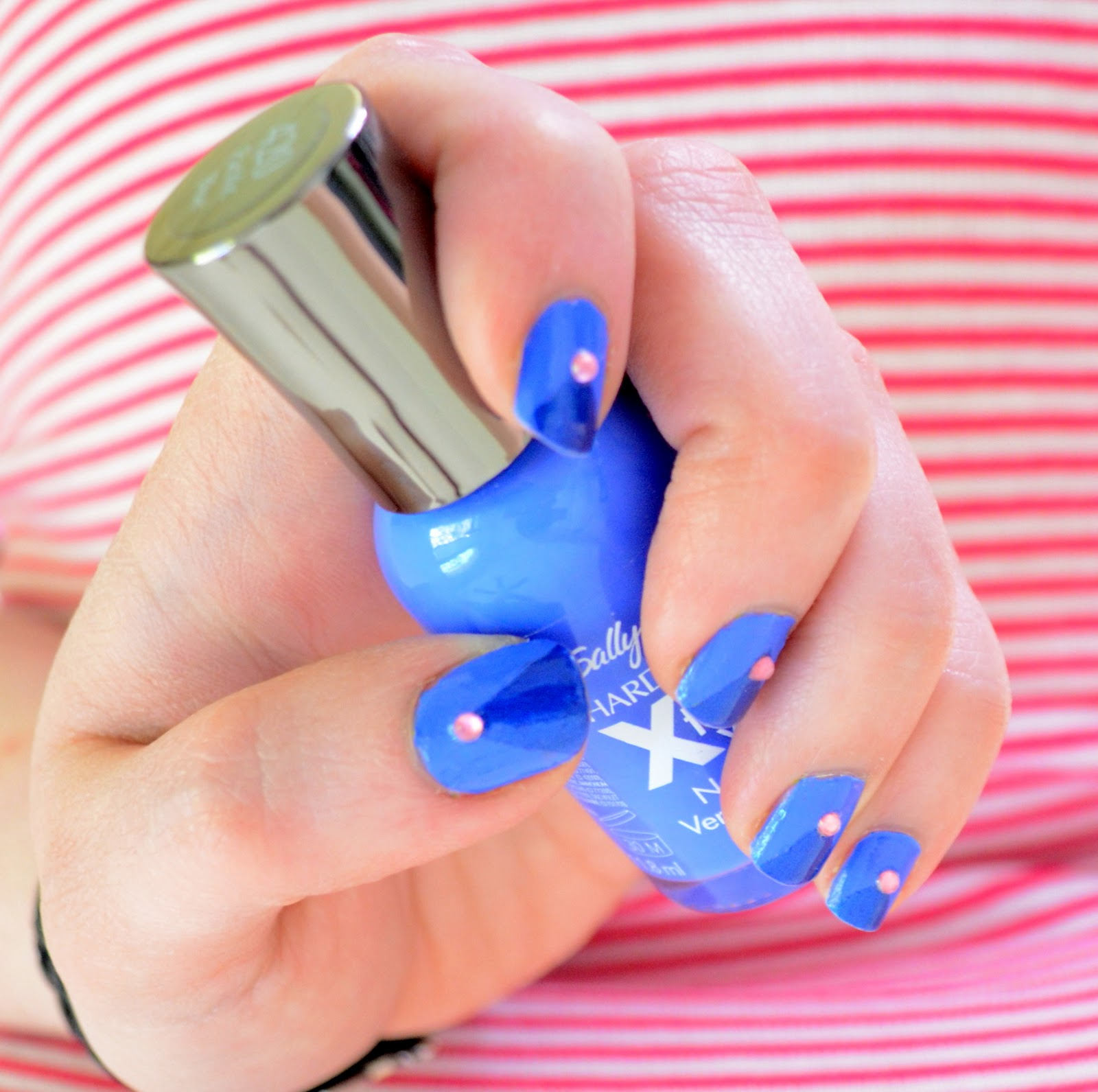 how to clean up nail polish off floor