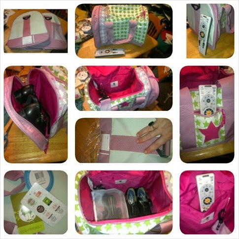 4 Kids Mini Duffle Bag collage