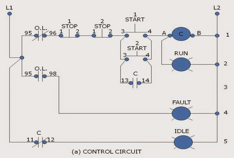 4 start stop stations wiring diagram for 2 all wiring diagram