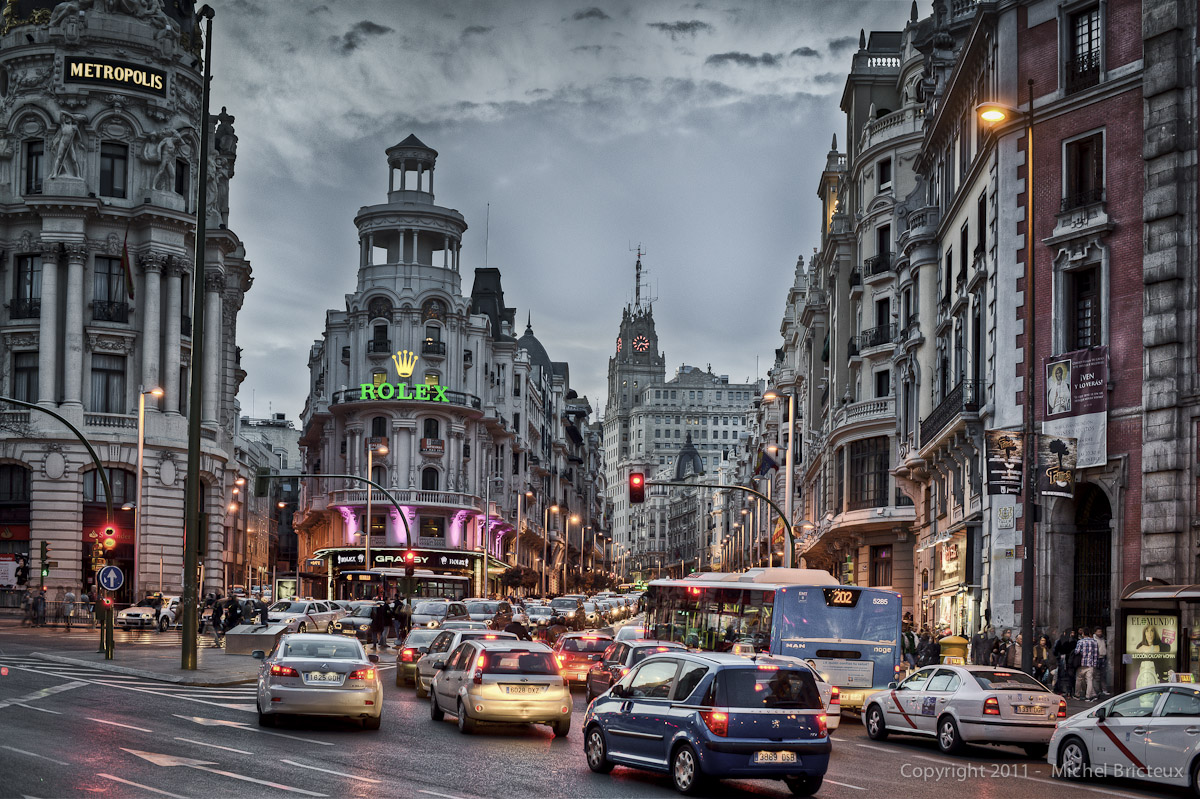 Gran Via, Madrid II