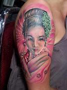 Tatuagens de Gueixas e Desenhos para Tattoo