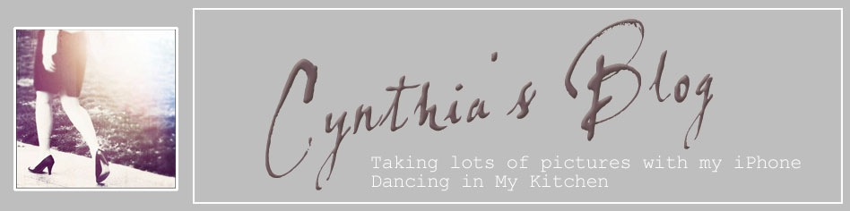 Cynthia&#39;s Blog