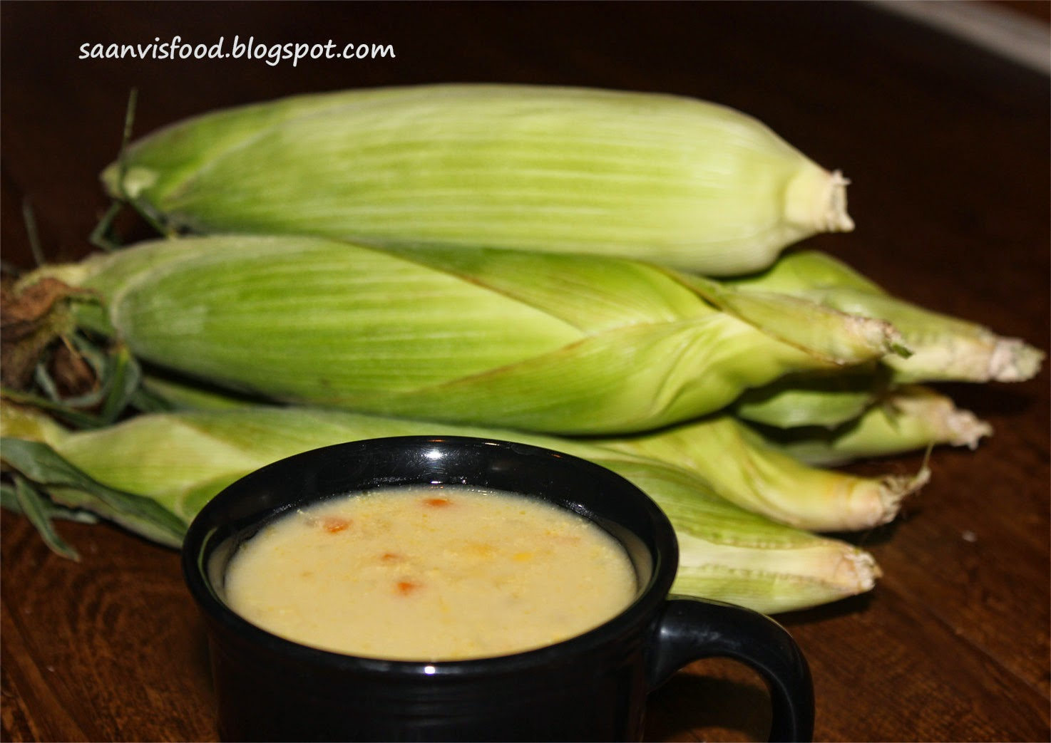 Creamy Sweet Corn and vegetable Soup