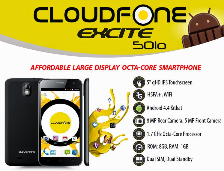 CloudFone Thrill 501o