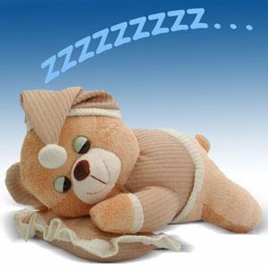 osito dormilon