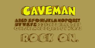 Caveman Font - Font Unik Untuk Desain Grafis