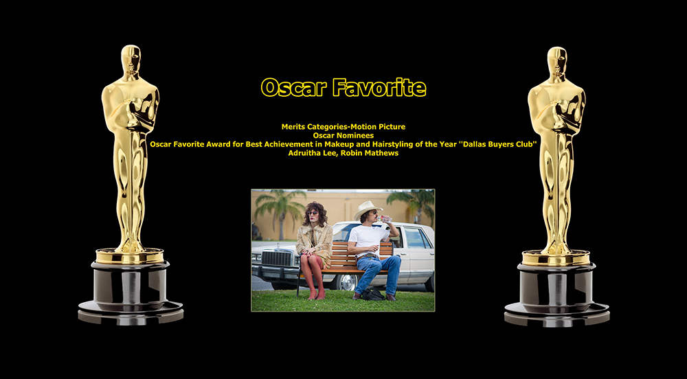 oscar favorite best achievement in makeup and hairstyling award dallas buyers club