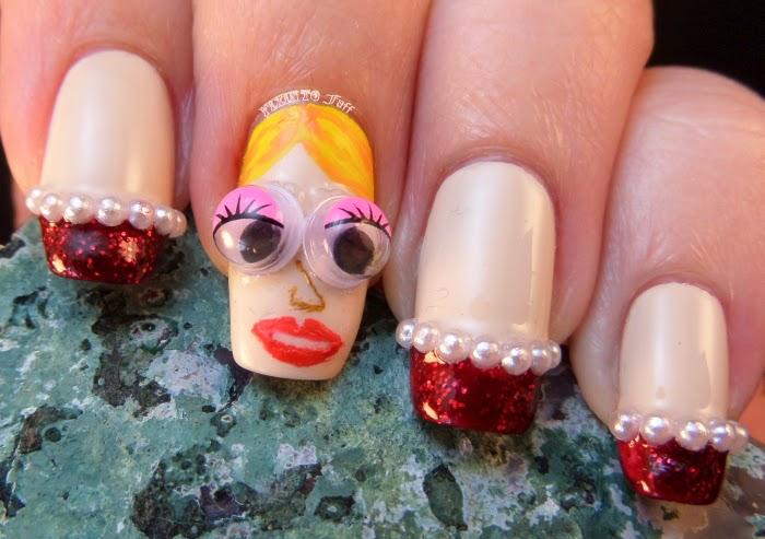 Born Pretty Store character googley eyes nail art discount code
