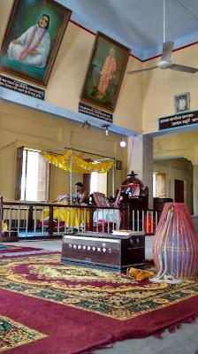 vrindavan ashram anandamoyee ma temple