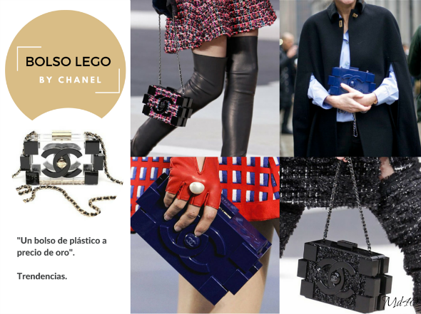 3 Girls 3 Bags by Chanel bolso lego