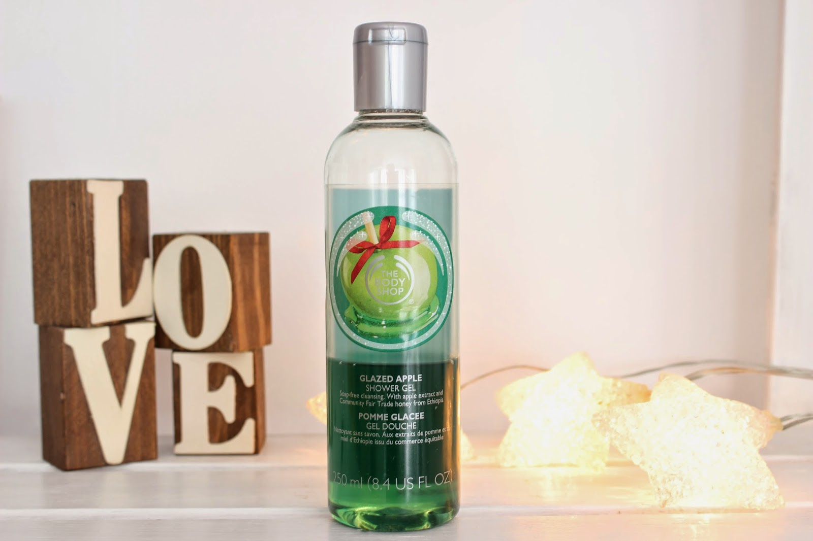 The Body Shop Glazed Apple Shower Gel
