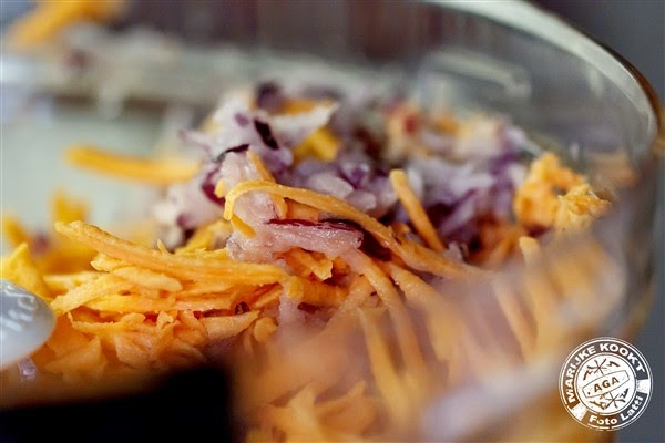 Rösti's van zoete aardappel