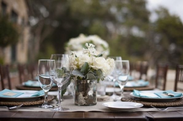 Love this rustically romantic wedding designed by Camille Styles Events