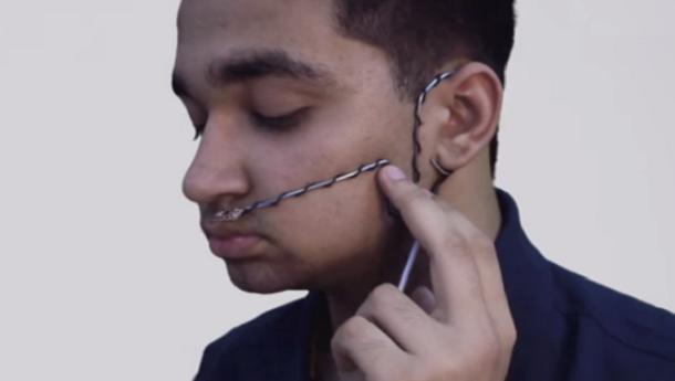 Adolescente da Índia inventa dispositivo que converte respiração em fala (com video)