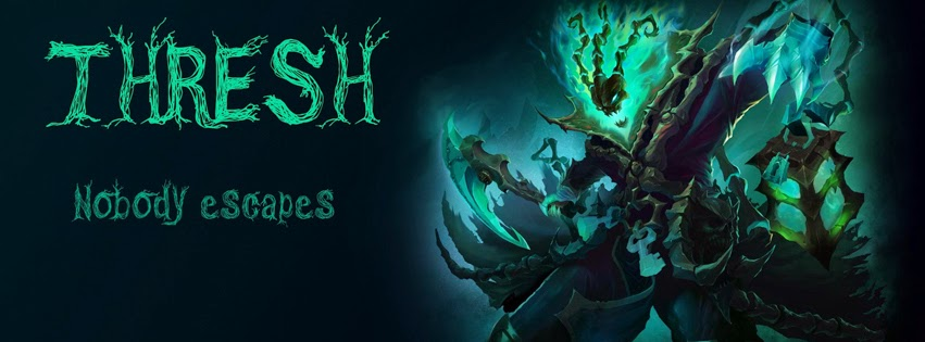 Thresh League of Legends Facebook Cover Photos