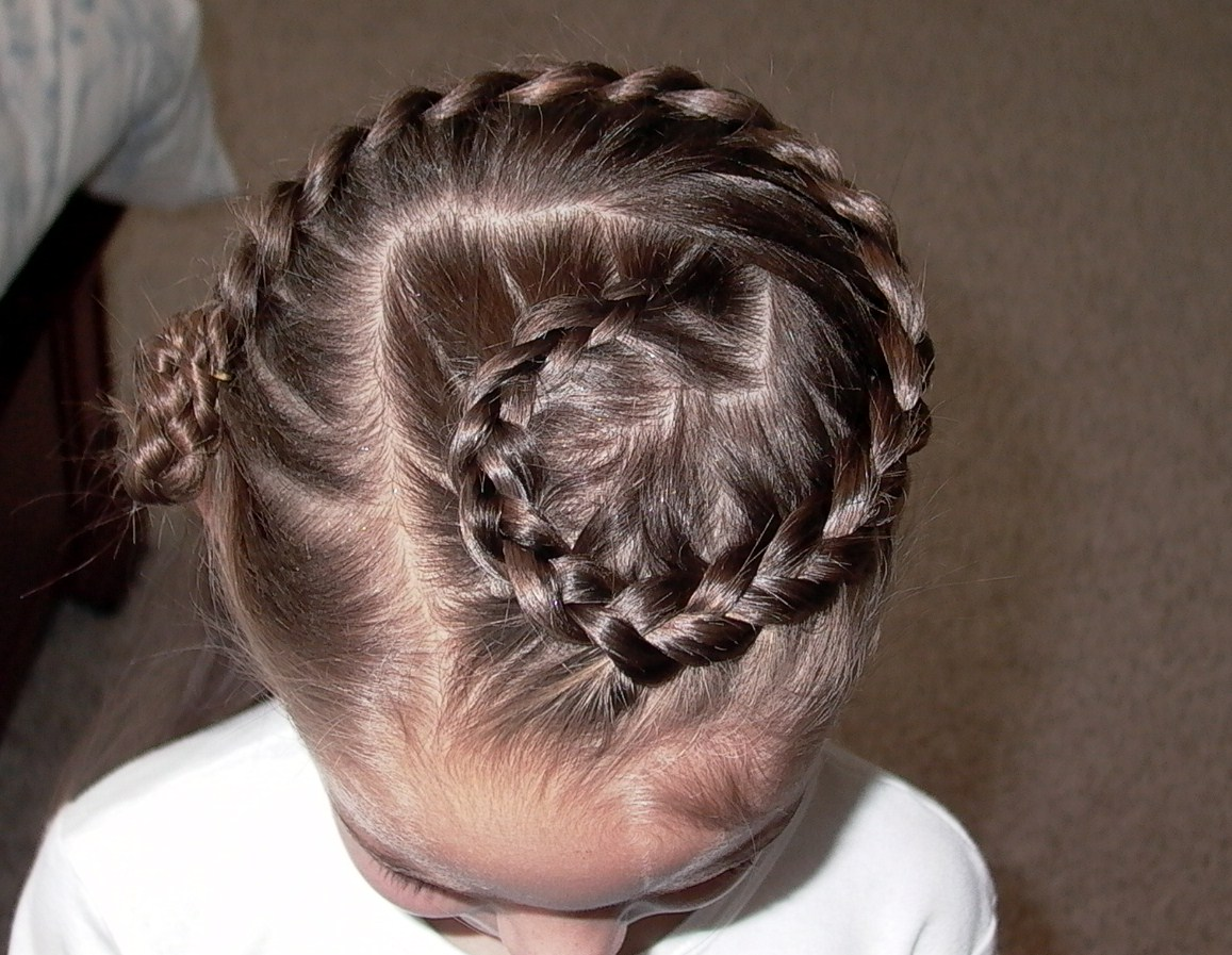 Cute Braided Hairstyles For Little Girls  My Experience Hairstyle