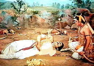 Ram sent Lakshman to take knowledge from Ravana