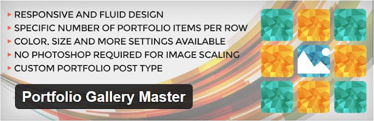 Portfolio Gallery Master plugin