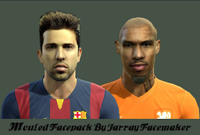 PES 2013 Mouled Facepack By Jarray Facemaker