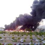 Gambar & Video : Kemalangan Kereta Api Dan Lori Tangki Minyak Di Sabah.