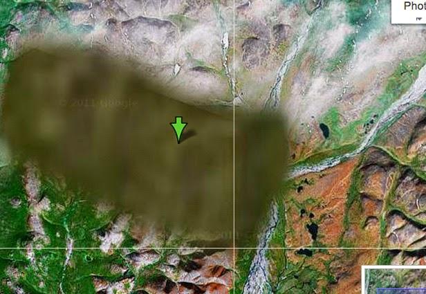 Foto-Foto Misterius di Google Maps dan Earth