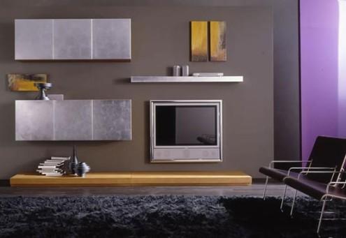 bellona+mor+spot+isiklandirmali+tv+unitesi+modeli Bellona Tv Üniteleri Modelleri