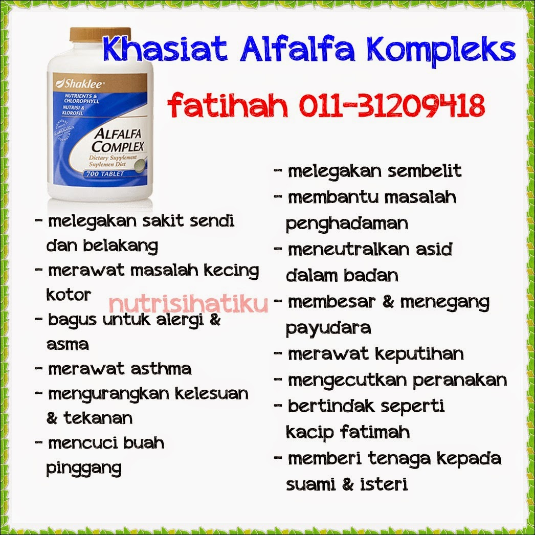 Khasiat Alfalfa