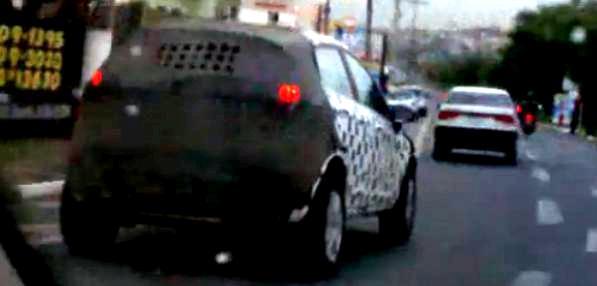 Video: la nueva Ford EcoSport realiza pruebas en Brasil.