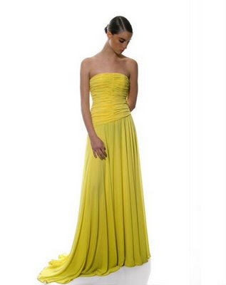 Imagens de Vestidos de Amarelos