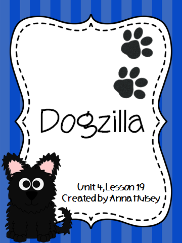 http://www.teacherspayteachers.com/Product/Journeys-Third-Grade-Dogzilla-1141207