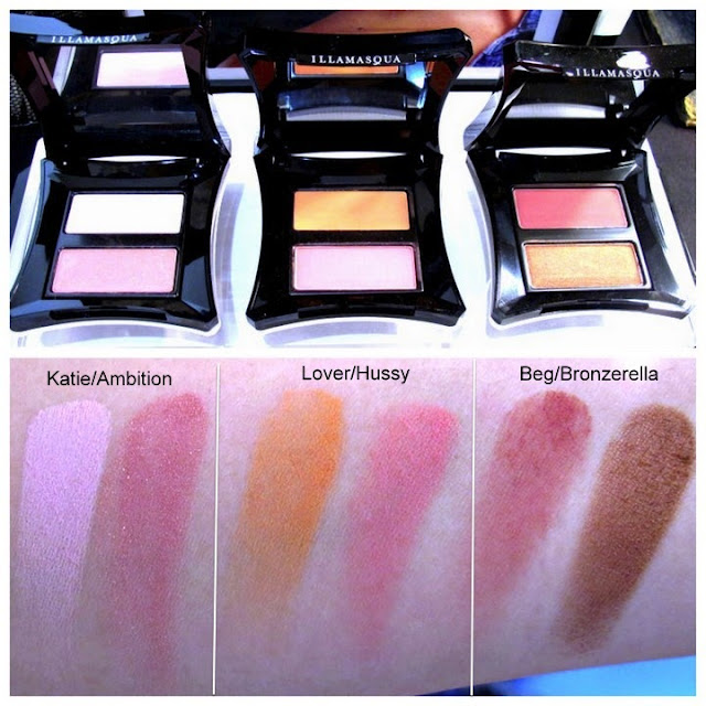 illamasqua i'm perfection collection swatches