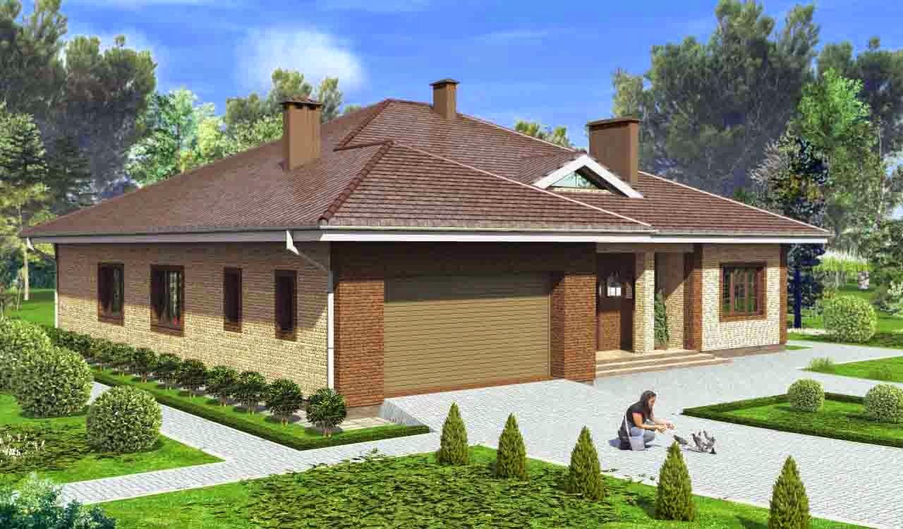Дизайн домов снаружи одноэтажных фото