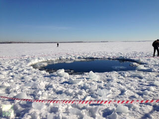 meteor blast in Russia