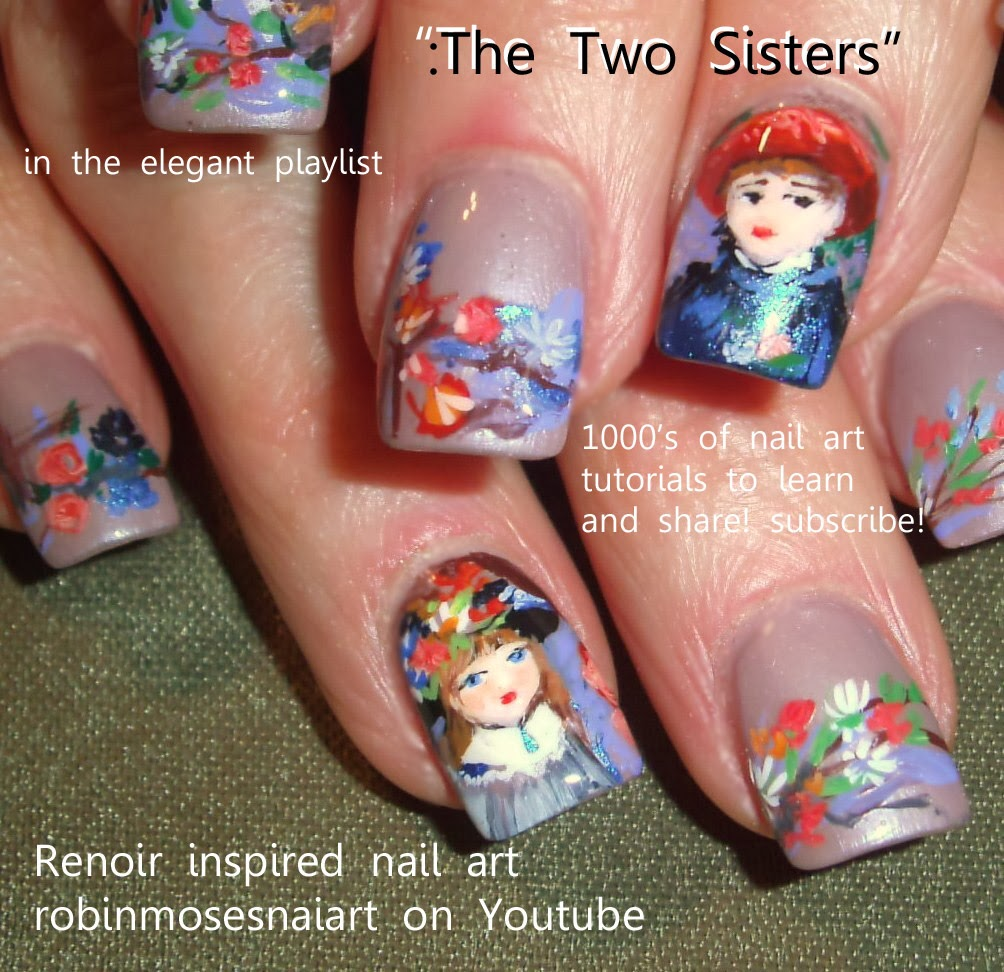 "Robin Moses Nail Art Designs: Robin Moses Nail Art: ""elegant Nail Art"" ""christmas Party"