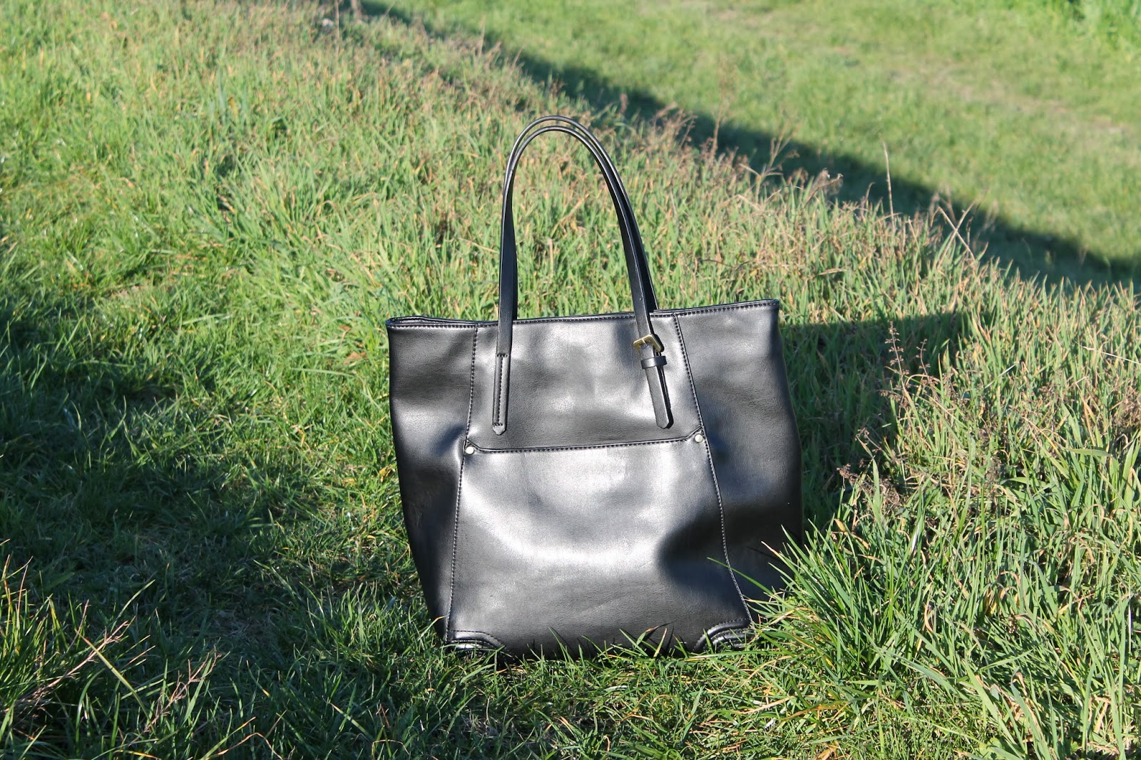 Zara black bag