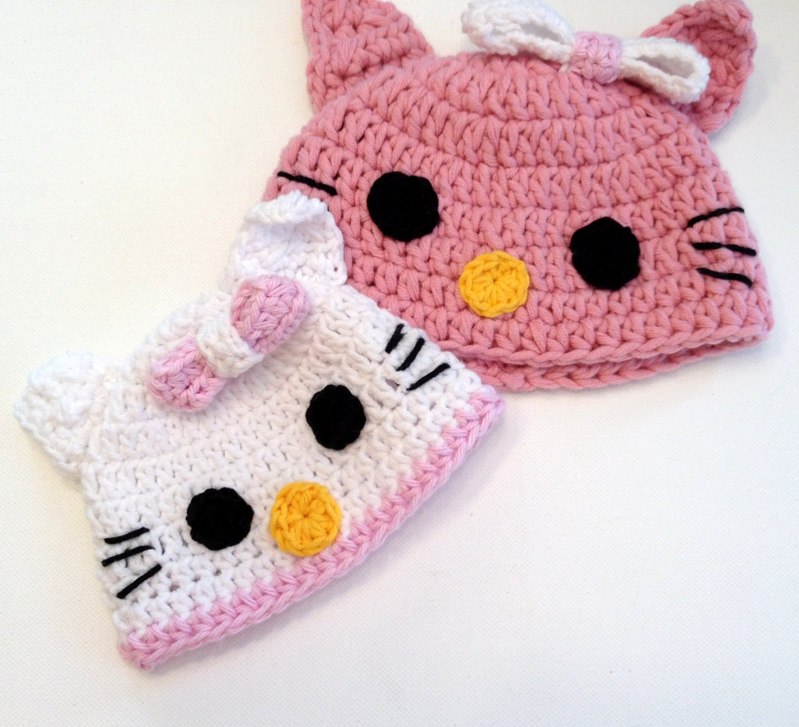 Quilted Cupcake Hello Kitty Hats