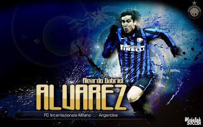Wallpapers Ricardo Gabriel Alvarez Inter Milan 2012-2013