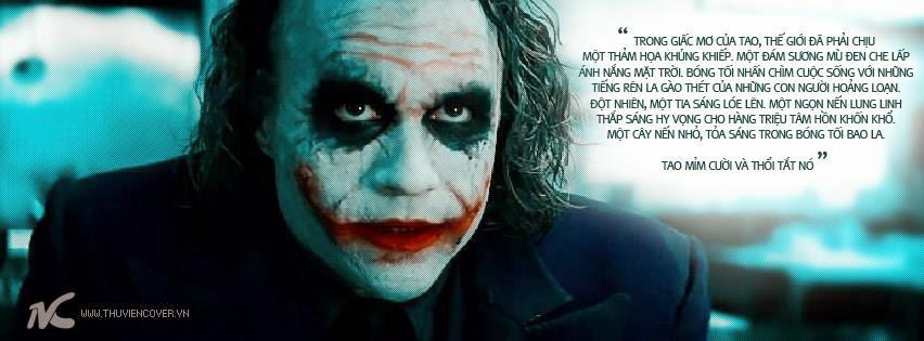 Ảnh Bìa Facebook Joker