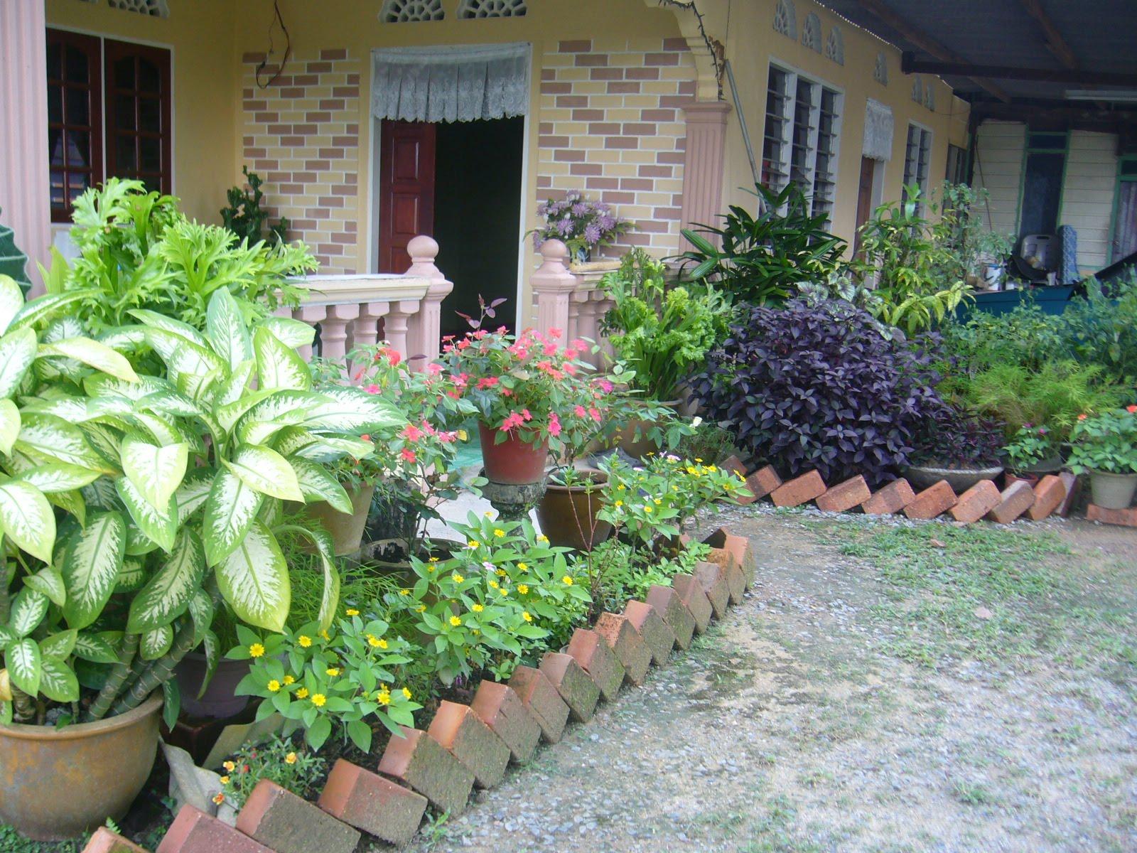 Aksesoris 30 Hiasan Taman Bunga Rumah Kampung