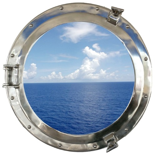 Porthole Window with Ocean View