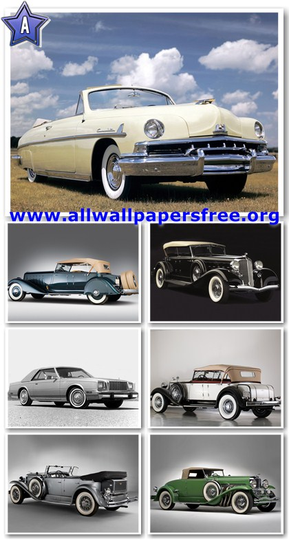 80 Amazing American Classic Cars Wallpapers 1280 X 1024 [Set 4]