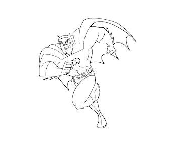 #1 Batman Coloring Page