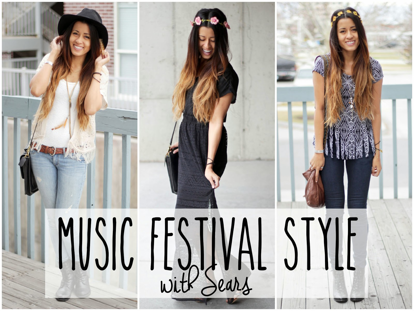 AUTEUR ARIEL: Spring Fashion: Music Festival Style with Sears