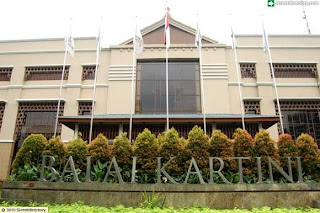Kirim Karangan Bunga papan ke Balai Kartini