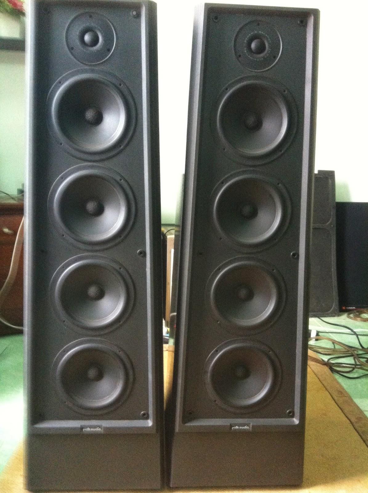 Mặt trước loa Polk Audio LS90
